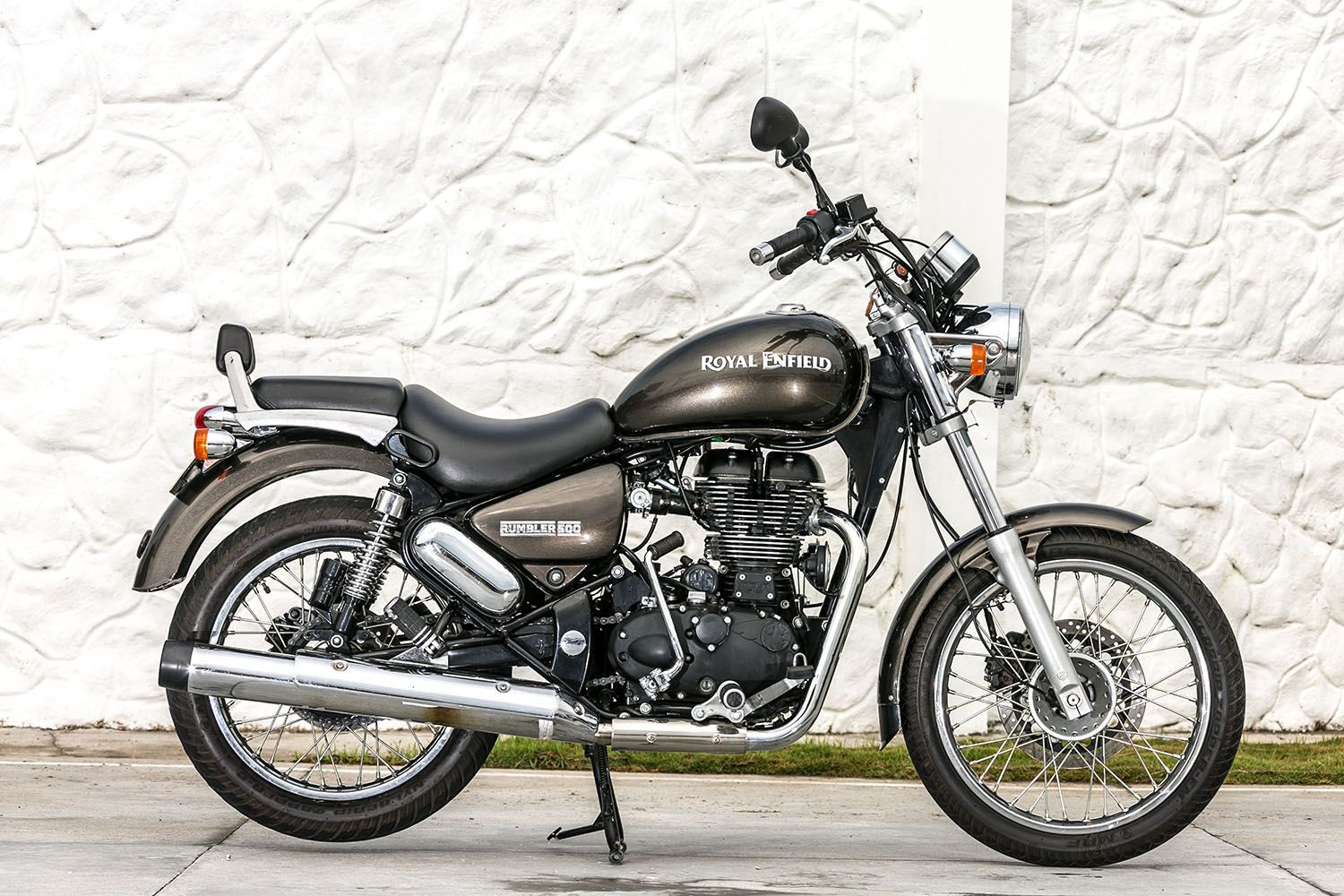 Test Drive De La Royal Enfield Rumbler 500 CC