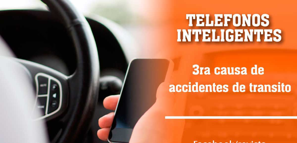 telefonos inteligentes causan accidentes