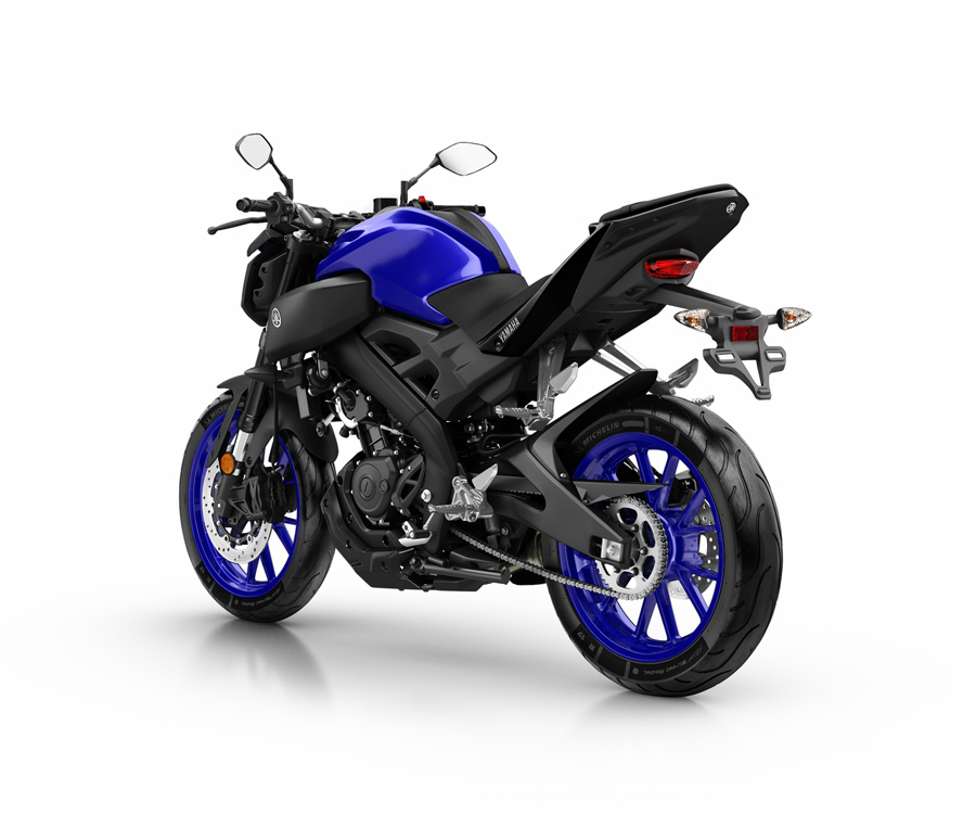 yamaha mt 125 2018 con el adn de la gama hyper naked. Black Bedroom Furniture Sets. Home Design Ideas