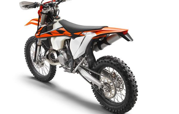 KTM 250 EXC TPI EU left rear MY 2018