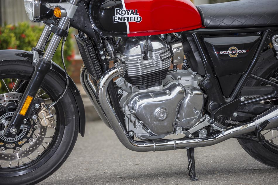 Motor y Caja Royal Enfield Interceptor 650  Twin