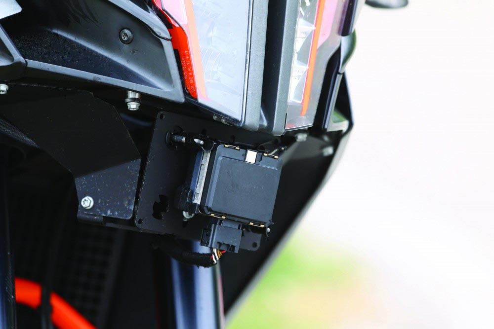 ktm adaptive cruise control front