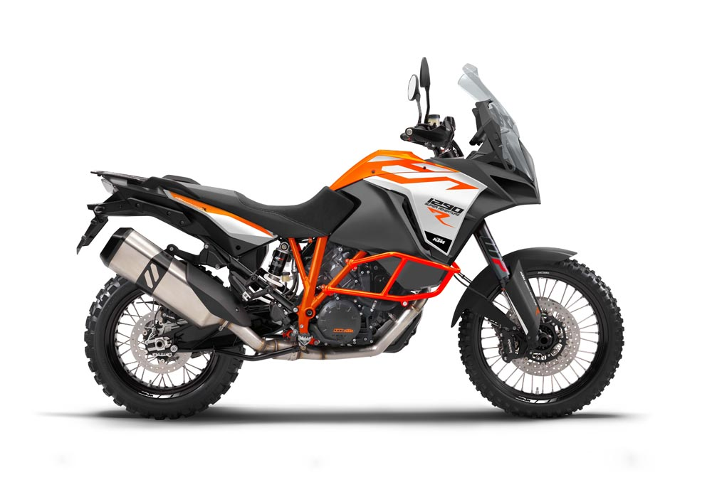 KTM Super Adventure lateral