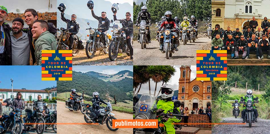 Royal Enfield Tour de Colombia 2019