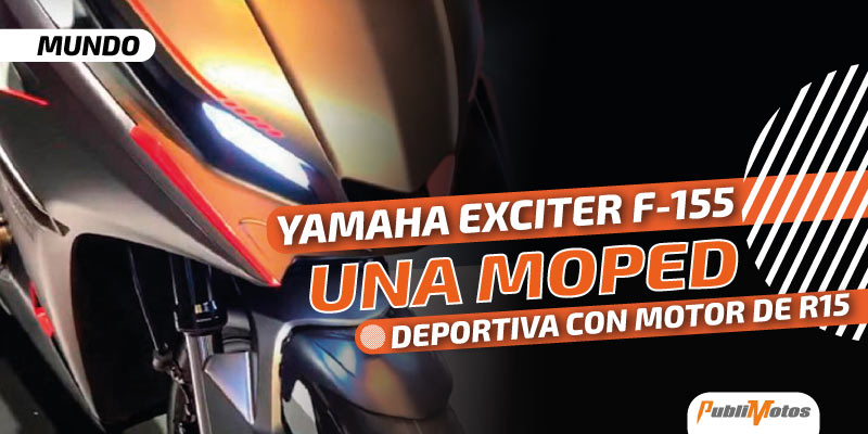 Yamaha Exciter F-155 | Una moped deportiva con motor de R15
