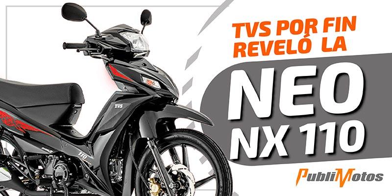 Moto TVS Neo NX 110 - Auteco