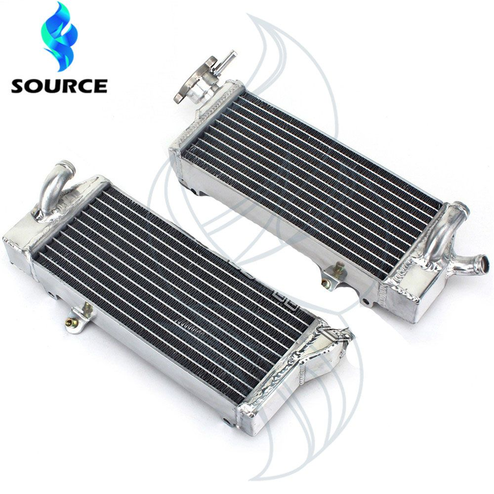 For KTM 125SX SX font b 125 b font 2007 Motorcycle Aluminum Replacement Cooling Replacement Radiator