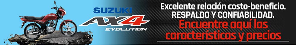 Suzuki AX Evolution mas economicas