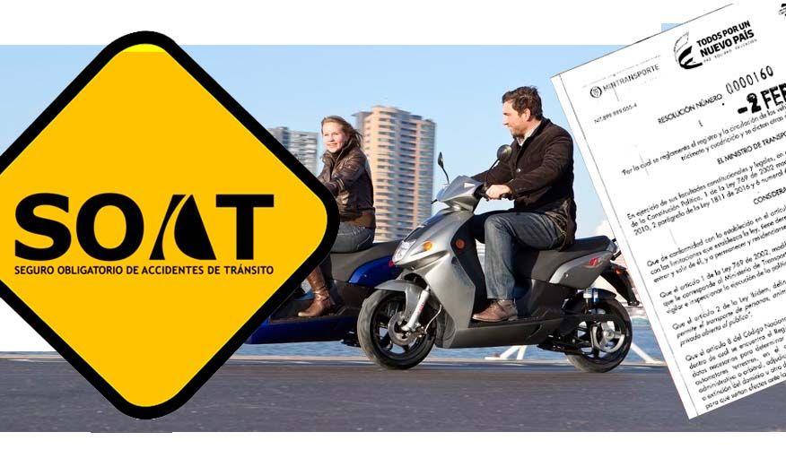 07dbbdf0b79 Nuevas tarifas del SOAT para motos eléctricas y bicimotores.
